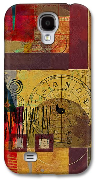 Astronomy Paintings Galaxy S4 Cases - Tarot Card Abstract 003 Galaxy S4 Case by Corporate Art Task Force