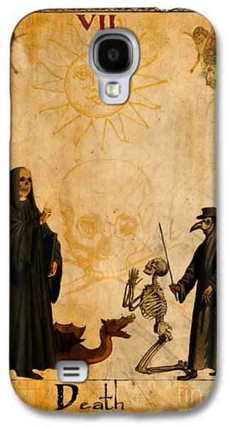 Recently Sold -  - Religious Galaxy S4 Cases - Tarot Card Death Galaxy S4 Case by Cinema Photography