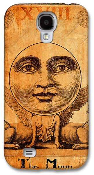 Religious Galaxy S4 Cases - Tarot Card The Moon Galaxy S4 Case by Cinema Photography