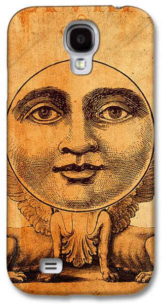 Moon Digital Galaxy S4 Cases - Tarot Card The Moon Galaxy S4 Case by Cinema Photography