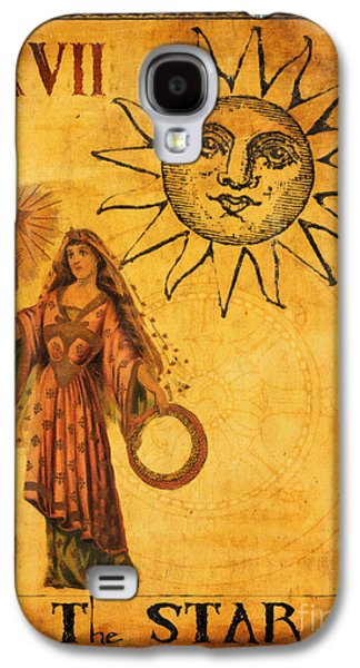 Religious Digital Art Galaxy S4 Cases - Tarot Card The Star Galaxy S4 Case by Cinema Photography