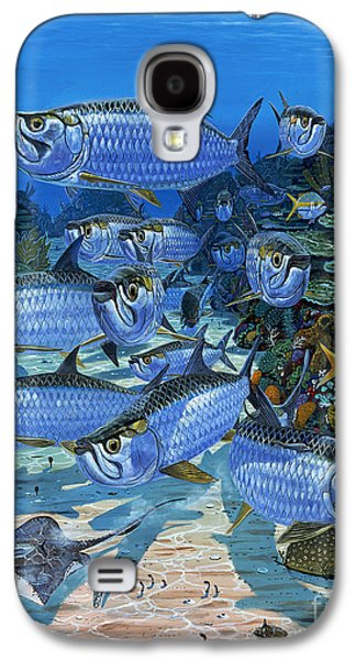 Paddle Galaxy S4 Cases - Tarpon Alley In0019 Galaxy S4 Case by Carey Chen
