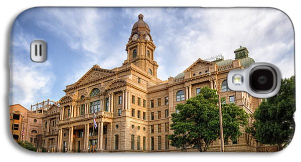 Landmarks Photographs Galaxy S4 Cases - Tarrant County Courthouse II Galaxy S4 Case by Joan Carroll