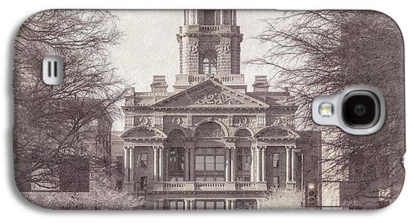 Landmarks Photographs Galaxy S4 Cases - Tarrant County Courthouse Galaxy S4 Case by Joan Carroll