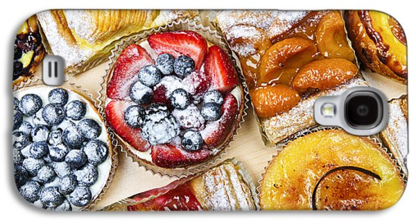 Tarts And Pastries Galaxy S4 Case by Elena Elisseeva