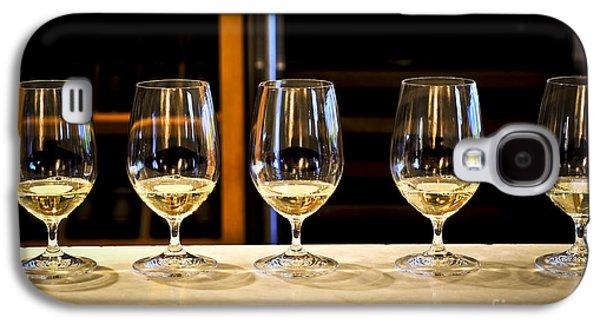 Chardonnay Galaxy S4 Cases - Tasting wine Galaxy S4 Case by Elena Elisseeva