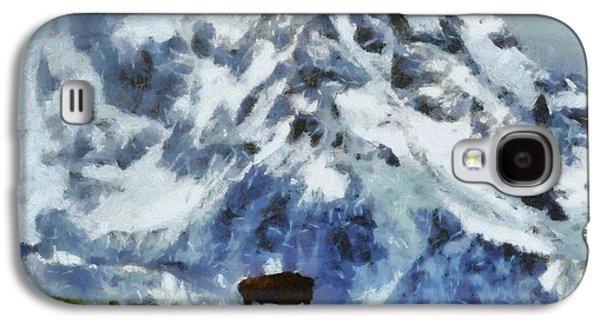 Tatanka Buffalo In Wyoming Galaxy S4 Case by Dan Sproul