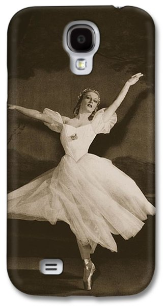 Tatiana Riabouchinska In Les Sylphides Galaxy S4 Case by French School