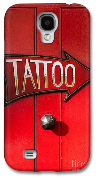 Best Sellers -  - Studio Photographs Galaxy S4 Cases - Tattoo Door Galaxy S4 Case by Tim Gainey