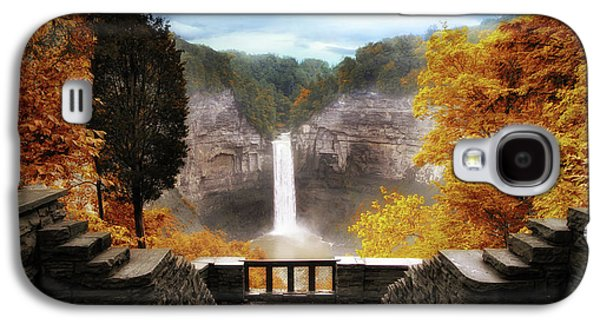 Taughannock Falls 2 Galaxy S4 Case by Jessica Jenney