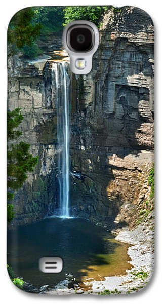 Ithaca Galaxy S4 Cases - Taughannock Falls Galaxy S4 Case by Christina Rollo