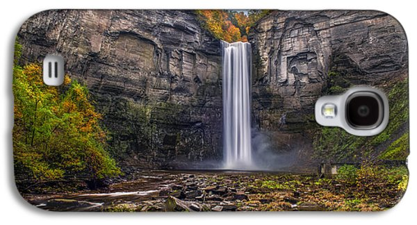 Ithaca Galaxy S4 Cases - Taughannock Falls Galaxy S4 Case by Mark Papke