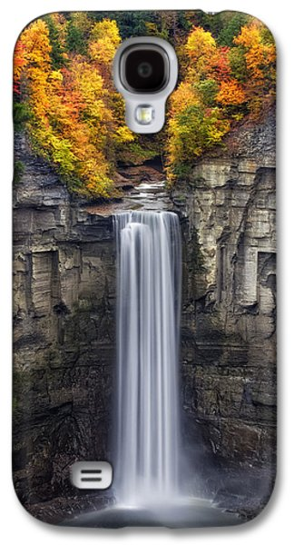 Ithaca Galaxy S4 Cases - Taughannock Galaxy S4 Case by Mark Papke