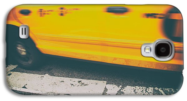 Urban Images Galaxy S4 Cases - Taxi Taxi Galaxy S4 Case by Karol  Livote