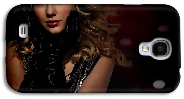 Taylor Swift Galaxy S4 Cases - Taylor Swift Galaxy S4 Case by Anibal Diaz