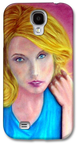 Taylor Swift Paintings Galaxy S4 Cases - Taylor Swift Galaxy S4 Case by Dylan Williams