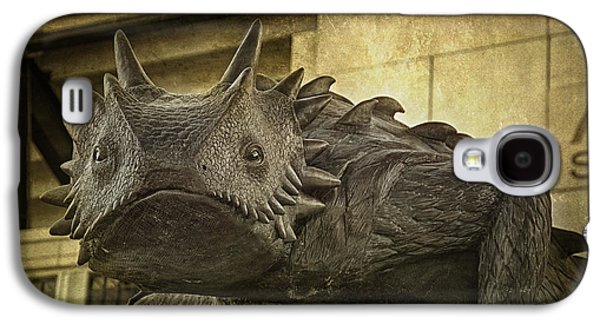 Frogs Photographs Galaxy S4 Cases - TCU Horned Frog Galaxy S4 Case by Joan Carroll