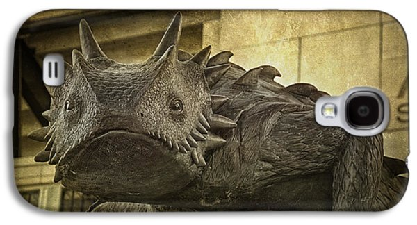 Sports Photographs Galaxy S4 Cases - TCU Horned Frog Galaxy S4 Case by Joan Carroll