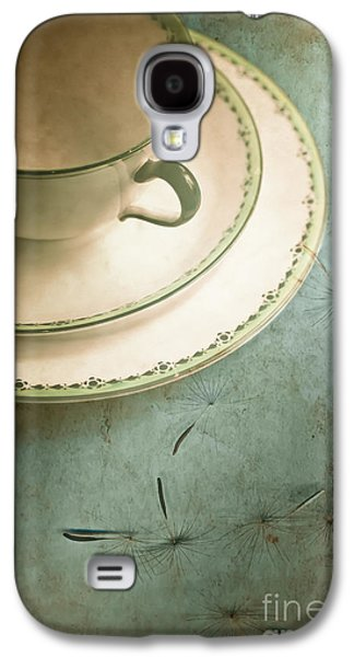 Concept Photographs Galaxy S4 Cases - Tea Time Galaxy S4 Case by Jan Bickerton