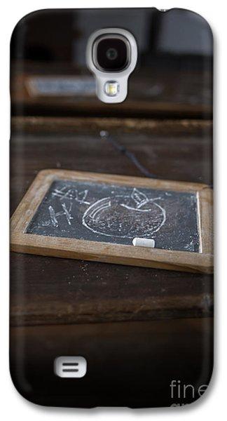 Schools Galaxy S4 Cases - Teacher - Old One Room Schoolhouse Galaxy S4 Case by Edward Fielding