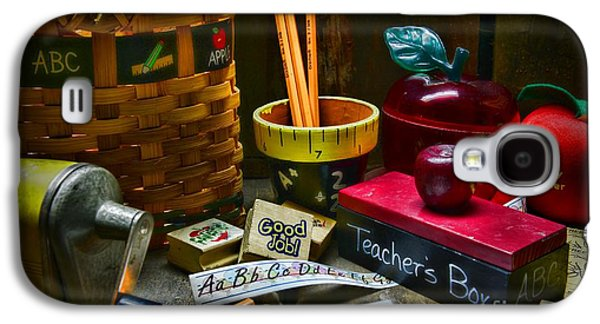 Aft Galaxy S4 Cases - Teacher - The Teachers Desk Galaxy S4 Case by Paul Ward