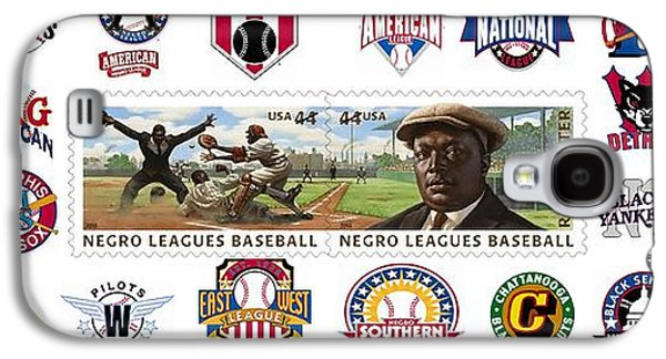 Teams Of The Negro Leagues Galaxy S4 Case by Mike Baltzgar