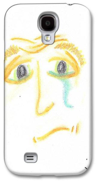 Torn Pastels Galaxy S4 Cases - Tear Full Galaxy S4 Case by Marie De Garo