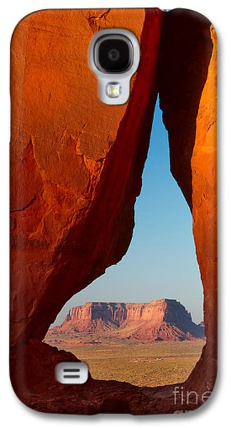Torn Galaxy S4 Cases - Teardrop Arch Galaxy S4 Case by Inge Johnsson