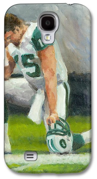Tim Tebow Galaxy S4 Cases - Tebowing Galaxy S4 Case by Joe Maracic