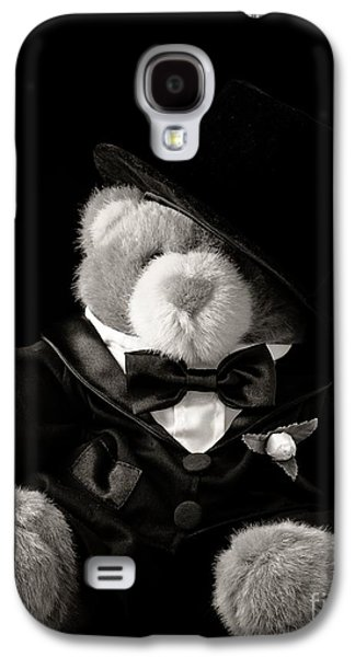 Groom Galaxy S4 Cases - Teddy Bear Groom Galaxy S4 Case by Edward Fielding
