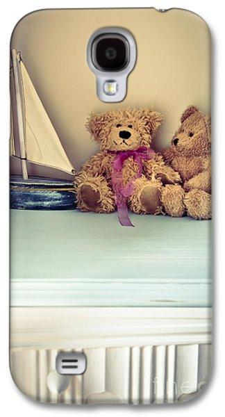 Toy Boat Galaxy S4 Cases - Teddy Bears Galaxy S4 Case by Jan Bickerton