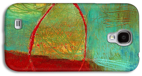 Grid Galaxy S4 Cases - Teeny Tiny Art 115 Galaxy S4 Case by Jane Davies