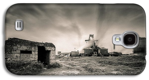 Steel Galaxy S4 Cases - Teesside Steelworks 2 Galaxy S4 Case by Dave Bowman