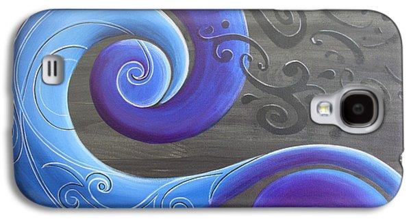 Aotearoa Galaxy S4 Cases - Tekau Galaxy S4 Case by Reina Cottier