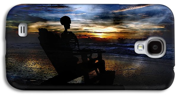Ghost Story Galaxy S4 Cases - Telling Tales to the Sea Galaxy S4 Case by Betsy A  Cutler