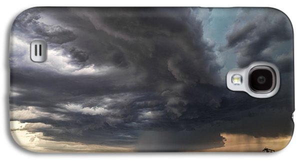 Summer Storm Galaxy S4 Cases - Tempest Galaxy S4 Case by Jill Van Doren Rolo