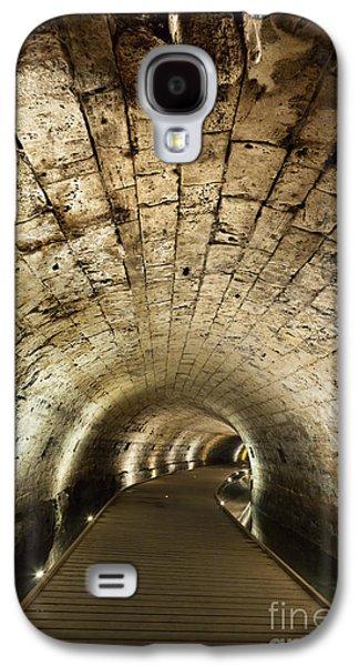 Ancient Galaxy S4 Cases - Templar Tunnel in Acco Galaxy S4 Case by Eldad Carin