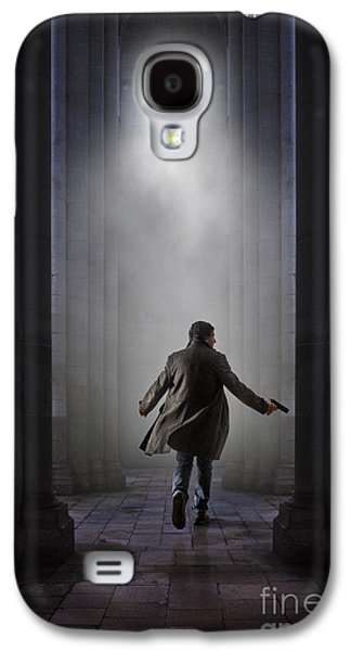 Ghostly Galaxy S4 Cases - Temple Chase Galaxy S4 Case by Carlos Caetano
