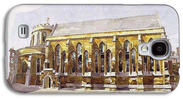 Temple Church Galaxy S4 Case by Annabel Wilson