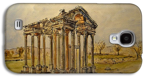 Temple Of Aphrodite Galaxy S4 Case by Juan  Bosco