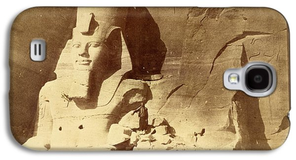Temple Of Ramses II Galaxy S4 Case by British Library