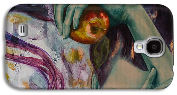 Alluring Paintings Galaxy S4 Cases - Temptation  Galaxy S4 Case by Dorina  Costras