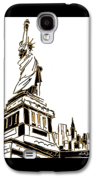 Tenement Liberty Galaxy S4 Case by Nicholas Biscardi