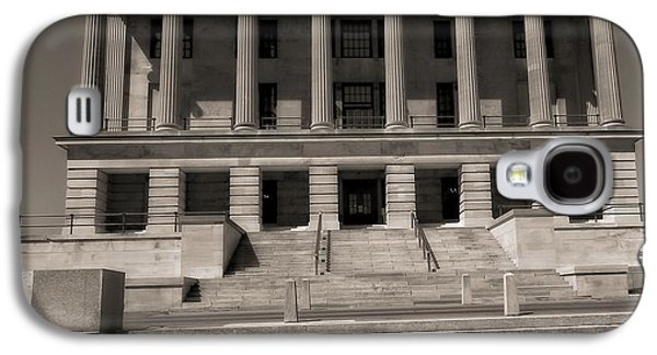 Tennessee Landmark Galaxy S4 Cases - Tennessee Capitol Building Galaxy S4 Case by Dan Sproul