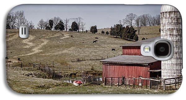 Tn Barn Galaxy S4 Cases - Tennessee Farmstead Galaxy S4 Case by Heather Applegate