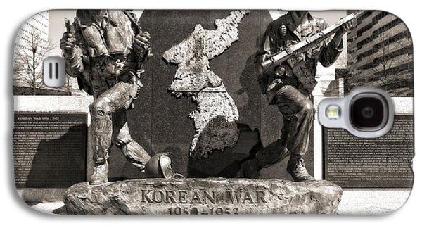 Tennessee Korean War Memorial Galaxy S4 Case by Dan Sproul
