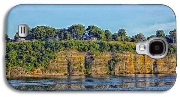 Tennessee Landmark Galaxy S4 Cases - Tennessee River Cliffs Galaxy S4 Case by Mountain Dreams