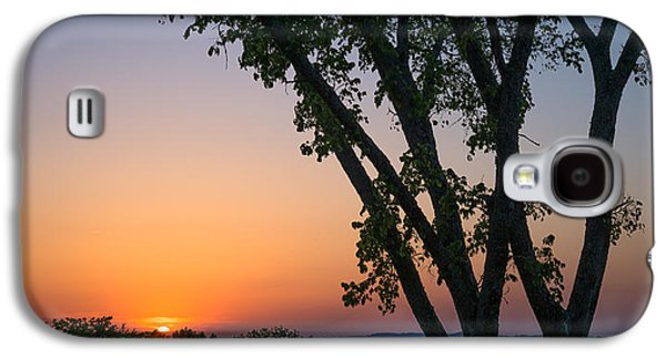 Vineyard Art Galaxy S4 Cases - Tennessee Sun Galaxy S4 Case by Clay Townsend