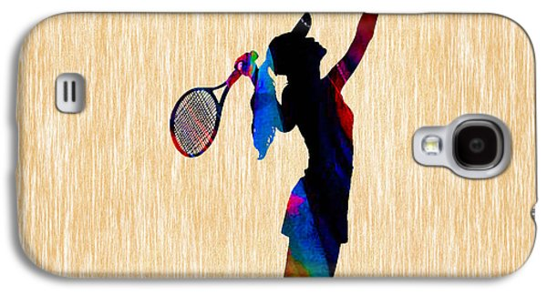 Tennis Galaxy S4 Cases - Tennis Game Galaxy S4 Case by Marvin Blaine
