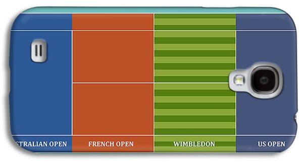 Tennis Player-s Dream Galaxy S4 Case by Carlos Vieira
